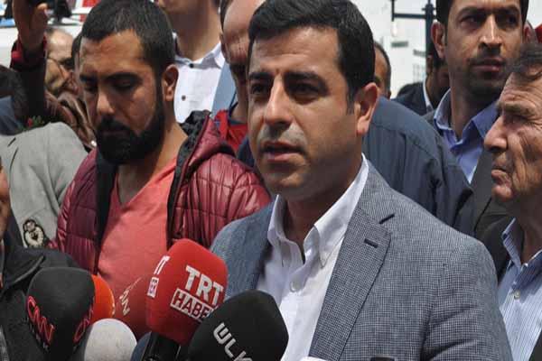 Selahattin Demirtaş'tan Taksim açıklaması