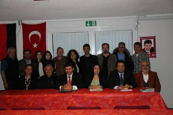 ATİB Göppingen Türk Kültür Merkezinde aday tanıtım toplantısı gercekleştirildi.