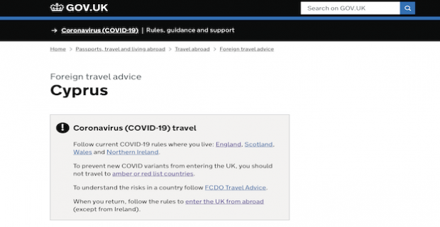 Güney Kıbrıs, İngiltere'yi Kırmızı kategorisine aldı, COVID-19 Güney Kıbrıs İngiltere giriş kuralları! Karantina, PCR test ?