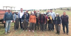 Üreten çiftçimizin problemleri nedir ? CHP Burdur İl Örgütü, çiftçi vatandaşlarla buluştu !
