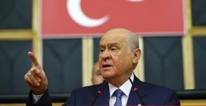 MHP lideri erken seçim için tarih verdi