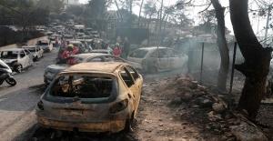 Yunanistan'daki yangında kundaklama şüphesi