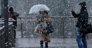 Meteorolojiden o iller için kuvvetli fırtına ve kar yağışı uyarısı