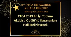 CTCA 2019 En İyi Toplum Aktivisti Ödülü'nü Kazananları Halk Belirleyecek