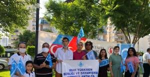 Irak Türkleri Azerbaycanlı kardeşlerinin yanında